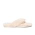 UGG Women's Fluff Flip Flop II Slippers - Natural: Image 1