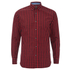 Produkt Men's Long Sleeved Checked Shirt - Rio Red: Image 1