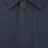 Folk Men's Mid Length Buttoned Jacket - Navy: Image 3
