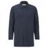 Folk Men's Mid Length Buttoned Jacket - Navy: Image 1