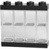LEGO Mini Figure Display (8 Minifigures) - Black: Image 1