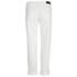 Karl Lagerfeld Women's Distressed Boyfriend Denim Jeans - White: Image 2