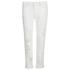 Karl Lagerfeld Women's Distressed Boyfriend Denim Jeans - White: Image 1