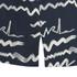 Karl Lagerfeld Women's Jacquard Scribble Top - Blue: Image 3