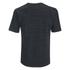 Helmut Lang Men's Tweed Ottoman Short Sleeved Sweatshirt - Black Heather: Image 2