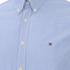Tommy Hilfiger Men's Devan Poplin Long Sleeved Shirt - Blue: Image 3