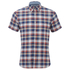 Tommy Hilfiger Men's French Check Short Sleeve Shirt - Dutch Navy: Image 1