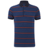Tommy Hilfiger Men's Barney Striped Polo Shirt - Dark Indigo: Image 1