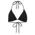Orlebar Brown Women's Nicoletta Bikini Top - Black: Image 1