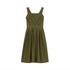 Maison Kitsuné Women's Iris Open Back Long Dress - Khaki: Image 2