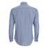 MSGM Men's Striped Long Sleeve Shirt - Blue: Image 2