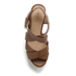 MICHAEL MICHAEL KORS Women's Celia Mid Wedge Sandals - Luggage: Image 3