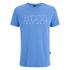 BOSS Hugo Boss Men's Large Logo T-Shirt - Blue: Image 1