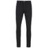 Brave Soul Men's Eastbourne Skinny Jeans - Black Wash: Image 1