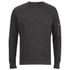 Brave Soul Men's Jacob Zip Sleeved Sweatshirt - Charcoal: Image 1