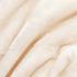 Luxurious Mink Faux Fur Throw - Cream: Image 2