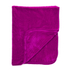 Luxurious Mink Faux Fur Throw - Fuchsia: Image 1