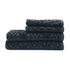 Highams 100% Egyptian Cotton 4 Piece Luxury Jacquard Towel Bale Set (500gsm) - Charcoal: Image 1