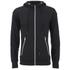 Crosshatch Men's Gixer Zip Through Hoody - Black: Image 1