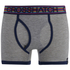 Crosshatch Men's Refracto 2-Pack Boxers - Multi/Grey: Image 3