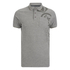 Crosshatch Men's Pacific Polo Shirt - Grey Marl: Image 1