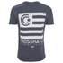 Crosshatch Men's Formalhaut Back Print T-Shirt - Periscope: Image 2