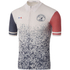 Le Coq Sportif Men's Paris Roubaix Pro Short Sleeved Jersey - White: Image 1