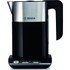 Bosch Styline Collection TWK8633GB Kettle and TAT8613GB Toaster Bundle - Black: Image 2
