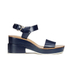 Jil Sander Navy Women's Heeled Sandals - Navy: Image 1