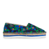 Jil Sander Navy Women's Graphic Flowers Espadrilles - Blue/White: Image 1