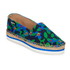 Jil Sander Navy Women's Graphic Flowers Espadrilles - Blue/White: Image 2