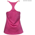 Better Bodies Women's Twisted T-Back Tank Top - Hot Pink: Image 2