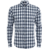 Scotch & Soda Men's Shadow Check Long Sleeved Shirt - Multi: Image 1