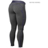 Better Bodies Women's Shaped Logo Tights - Anthracite/Purple: Image 2