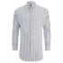 Scotch & Soda Men's Striped Oxford Shirt - White: Image 1