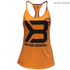 Better Bodies Women's Twisted T-Back Tank Top - Bright Orange: Image 1