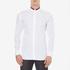 HUGO Men's Ewid Collar Detail Long Sleeve Shirt - White: Image 1