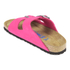 Birkenstock Women's Arizona Slim Fit Suede Double Strap Sandals - Pink: Image 4