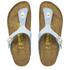 Birkenstock Women's Gizeh Shiny Snake Toe-Post Sandals - Sky: Image 2