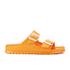 Birkenstock Women's Arizona Slim Fit Double Strap Sandals - Neon Orange: Image 1