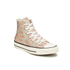Converse Women's Chuck Taylor All Star Raffia Weave Hi-Top Trainers - Converse Natural/Brake Lights: Image 4