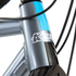 Kinesis Crosslight 5T Disc Frameset - Steel Grey: Image 6
