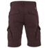 Threadbare Men's Hulk Cargo Shorts - Burgundy: Image 2