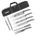 Tower T90310 8 Piece Knife Set - Stainless Steel: Image 1
