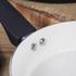 Tower T90920B Taper 2 Piece Ceramic Coated Frying Pan Set - Black: Image 5
