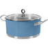 Morphy Richards 973037 Accents Casserole Dish - Cornflower Blue - 24cm: Image 1