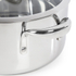 Morphy Richards 79798 Pro Pour Casserole Dish - Stainless Steel - 24cm: Image 5