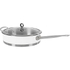 Morphy Richards 79006 Accents Saute Pan with Glass Lid - White - 28cm: Image 1