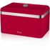 Swan SWKA1010RN Retro Bread Bin - Red: Image 1