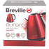 Breville VKJ741 Stainless Steel Jug Kettle - Red - 1L: Image 4